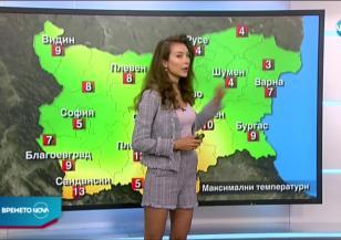 Прогноза за времето (05.03.2021 - централна емисия)