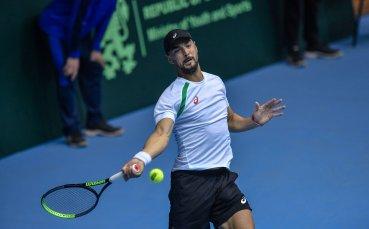 Кузманов отпадна в първия кръг на квалификациите на турнира в Загреб