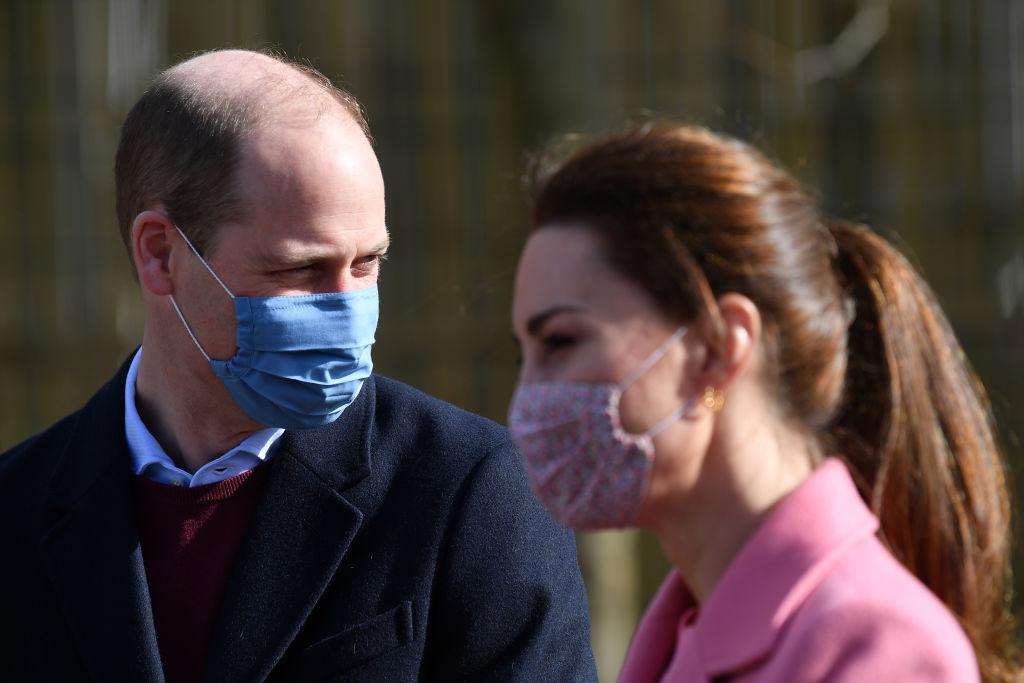 <p>Първа изява на Уилям и Кейт след интервюто на Хари и Меган</p>