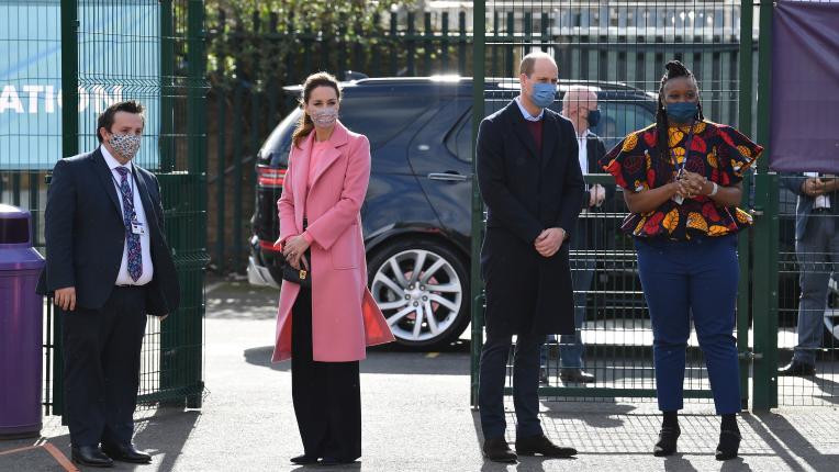 Кейт Мидълтън и принц Уилям с първа поява след интервюто на Меган и Хари с Опра Уинфри