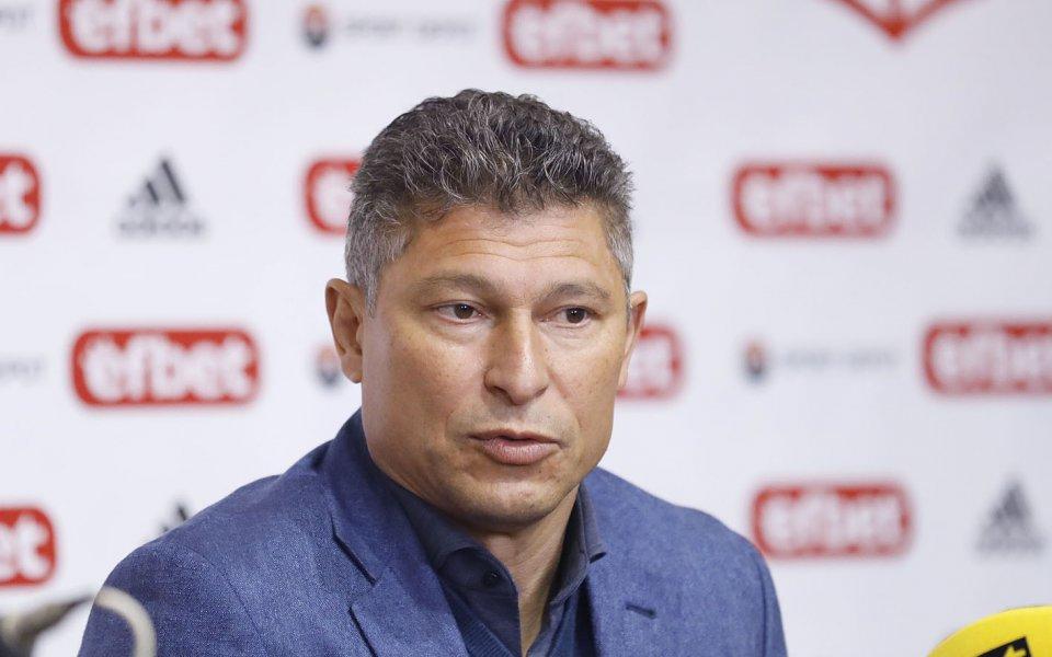 Ръководството на Етър Велико Търново поздрави главния мениджър на ЦСКА