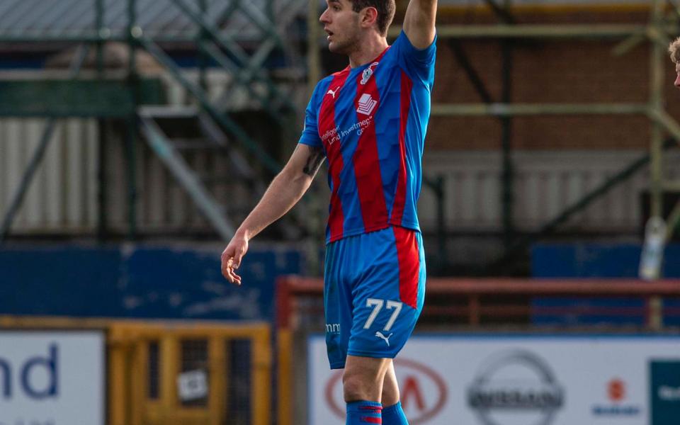 Българският нападател, който играе за шотландския Инвърнес – Николай Тодоров,