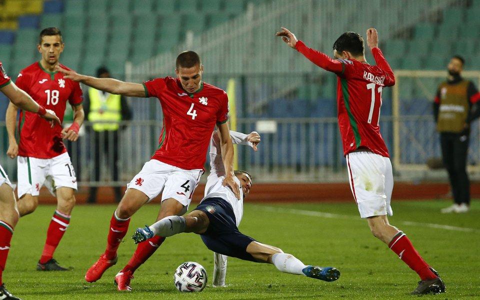 Във втори пореден мач националният отбор по футболна България ще