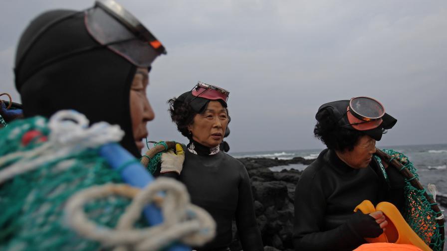 """Кои са хеньо - легендарните """"морски жени"""""""