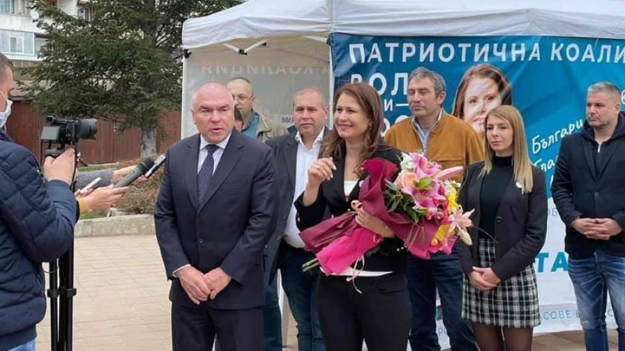 Жители на Добрич възложиха задачи лично на Веселин Марешки