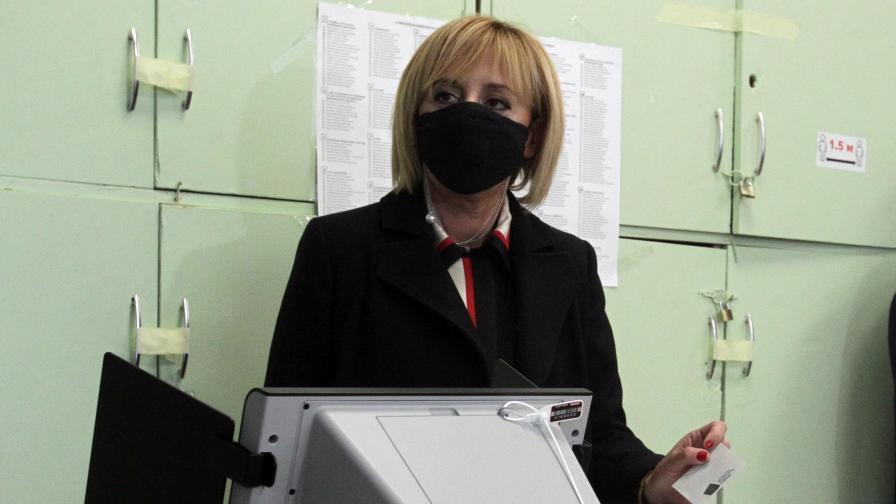 Мая Манолова: Протестният вот спечели