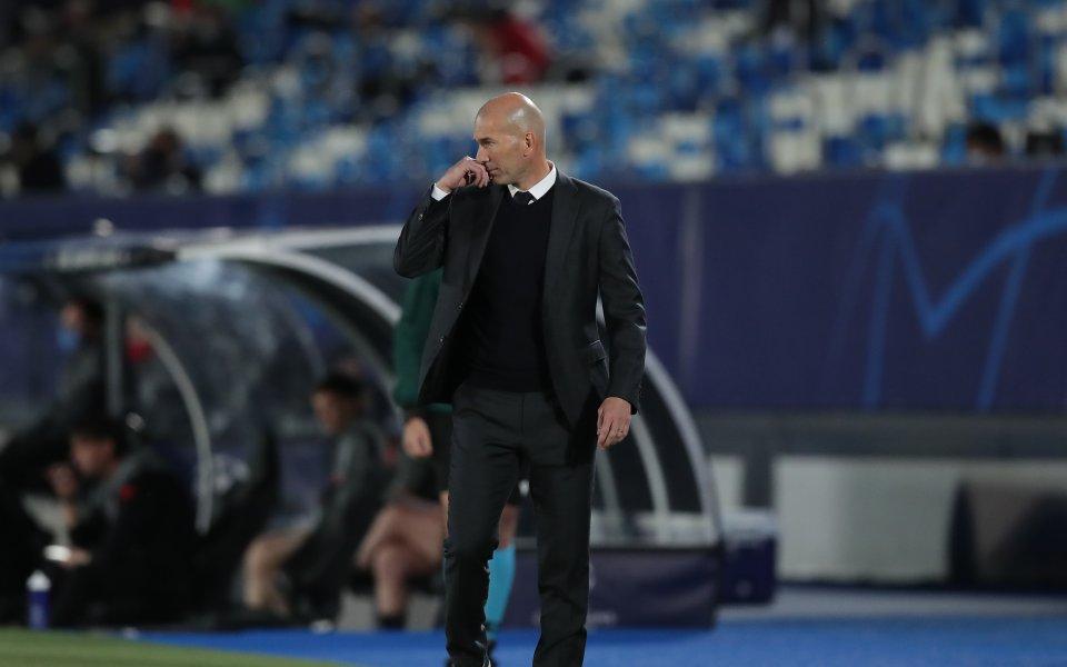 Треньорът на Реал Мадрид - Зинедин Зидан, коментира победата на