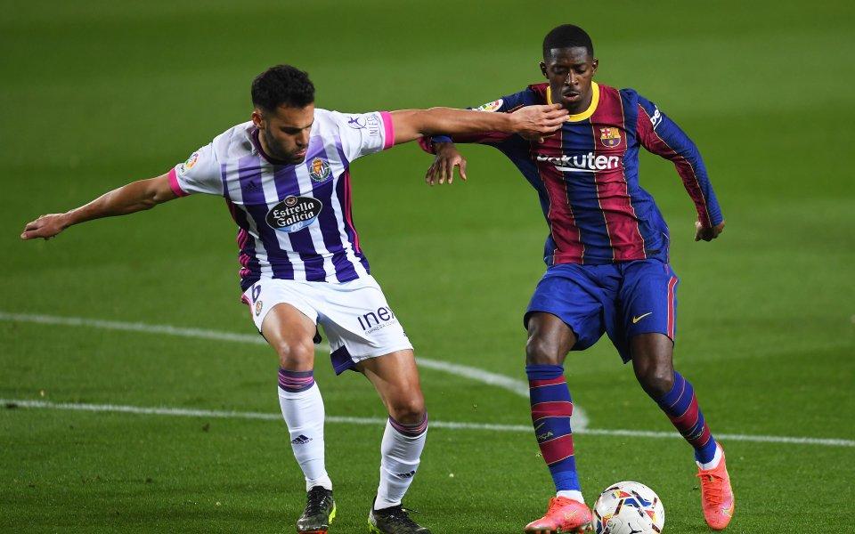 Футболистът на Барселона Усман Дембеле няма намерение да напуска клуба.