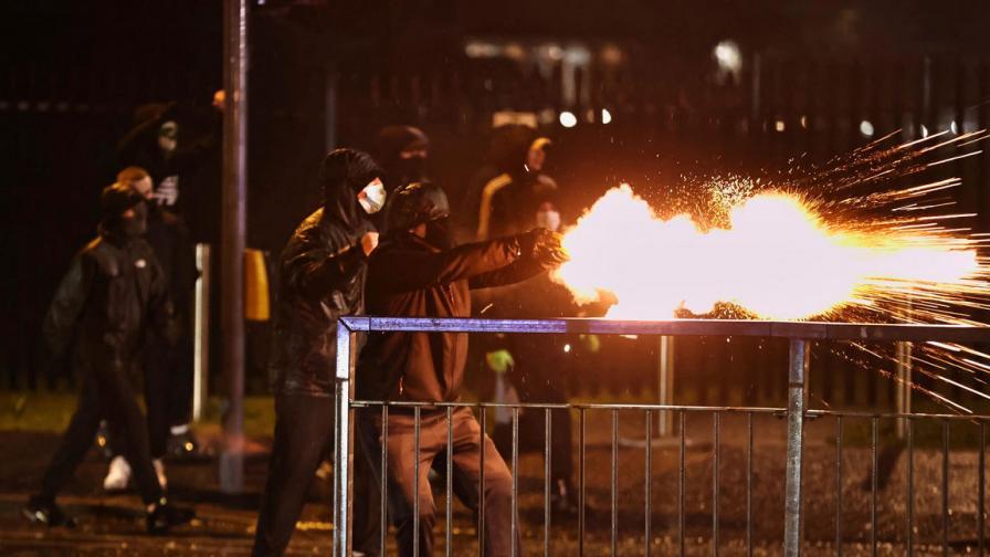 Нови сблъсъци в Северна Ирландия въпреки...