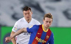 НА ЖИВО: Барселона 0:0 Реал Мадрид