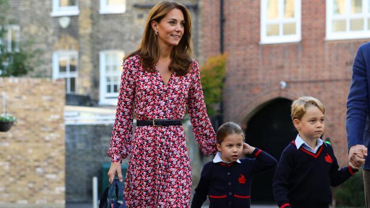Тайният език, който Кейт Мидълтън използва пред децата си