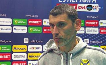 Александър Попов: Това 3:0 не отразява съвсем реалността
