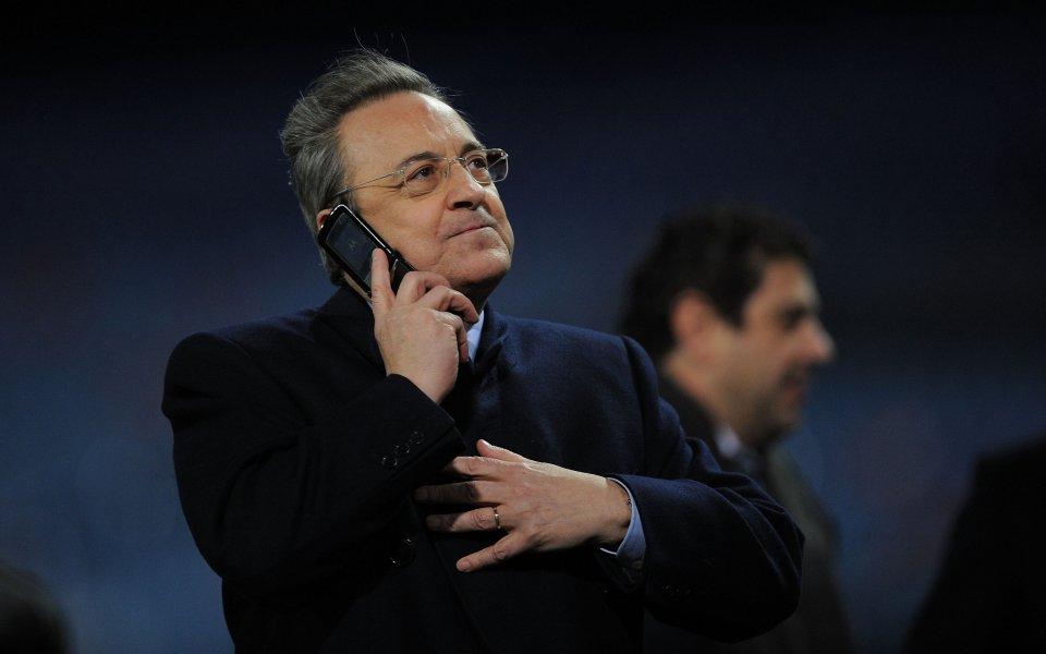 Президентът на Реал Мадрид Флорентино Перес има нова цел за