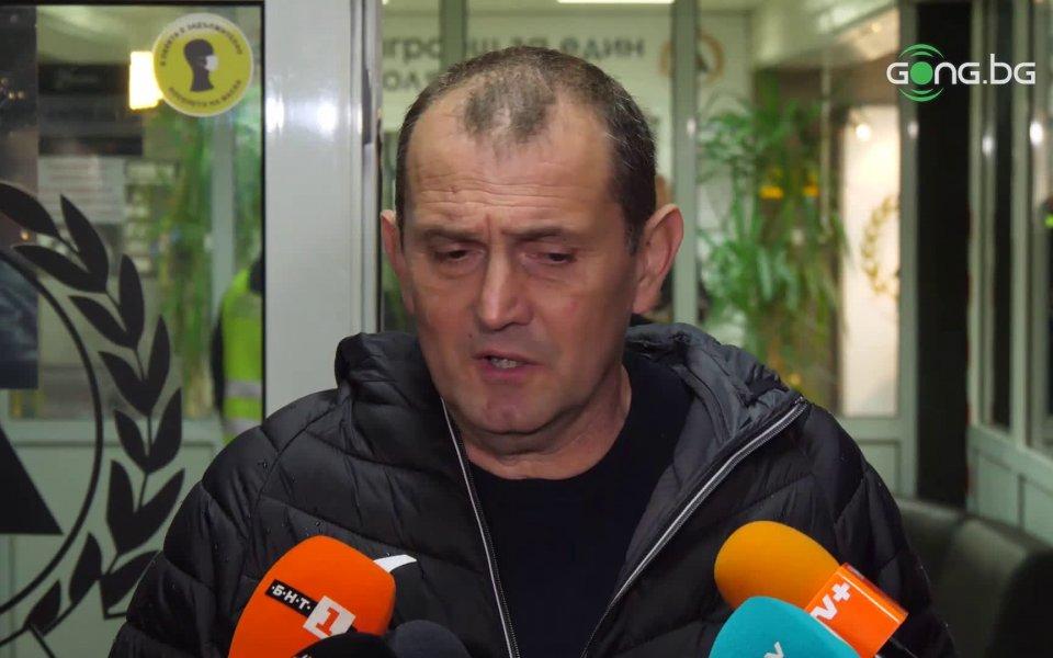Новият старши треньор на Славия Златомир Загорчич изрази надежда, че