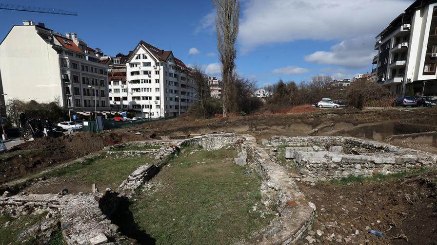 София създава втори археологически парк...