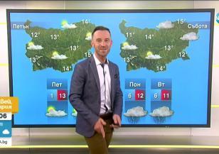Прогноза за времето (15.04.2021 - сутрешна)
