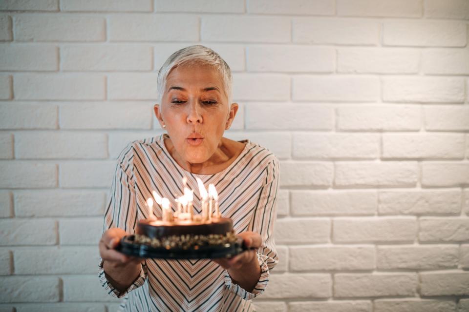 жена рожден ден