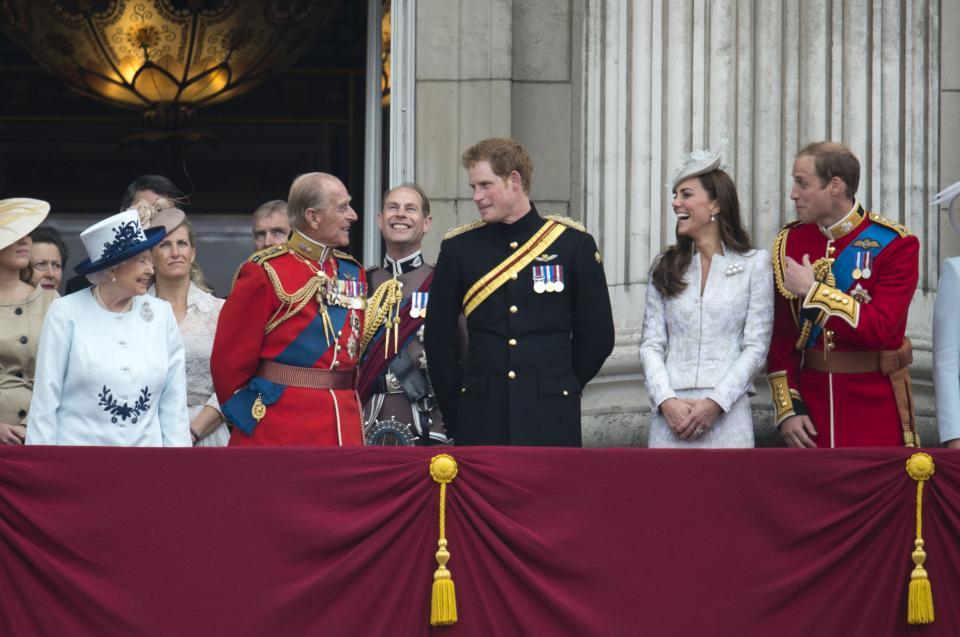 принц Хари кралско семейство