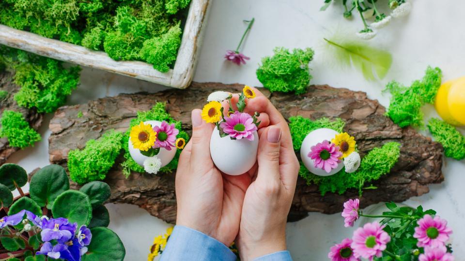 яйце Великден украса