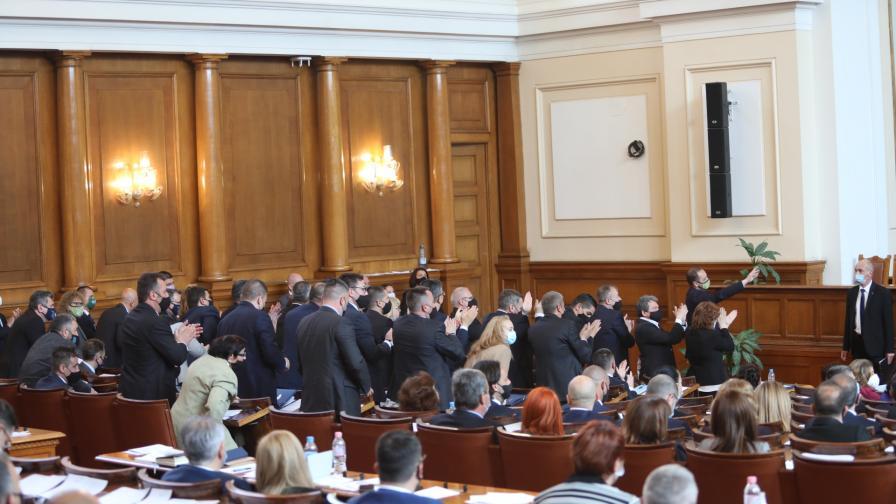 В НС приеха състава на три парламентарни комисии