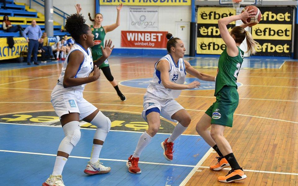 Монтана изравни на Берое в дамския баскетболен финал