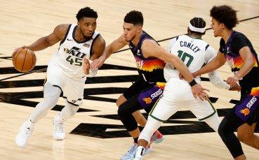 Юта се утвърди на върха в НБА след успех над Индиана