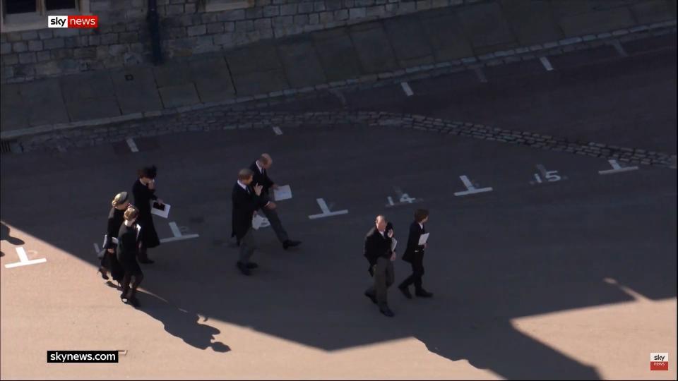 Кейт Мидълтън погребение принц Филип