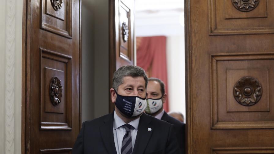 Консултации на президента Румен Радев с...