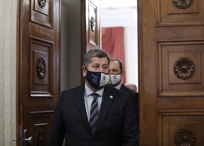 Румен Радев с Демократична България