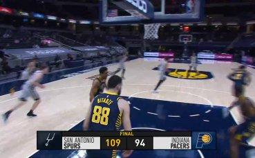 Вижте най-интересните моменти от мачовете в НБА тази нощ