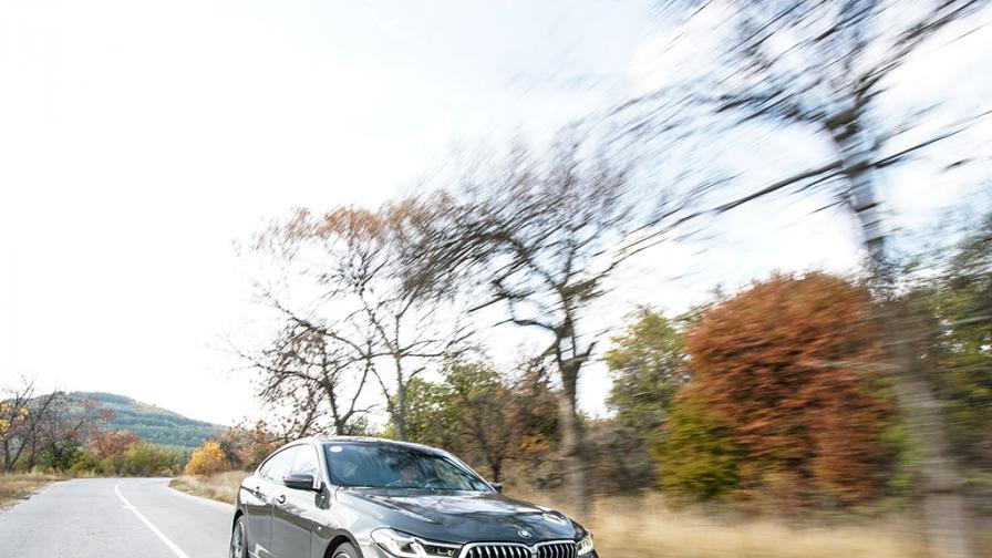 Зад волана на BMW Серия 6 Gran Turismo