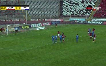 Жорди Кайседо увеличи преднината на ЦСКА от дузпа