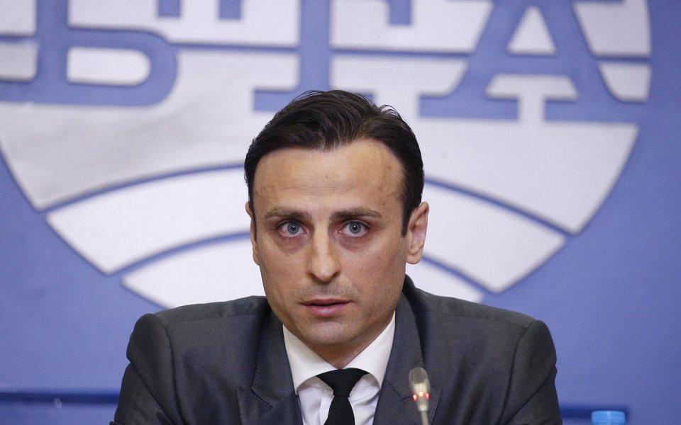 Бившият играч на националния отбор и Левски Илиян Стоянов -