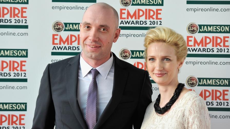 Захари Бахаров със съпругата му