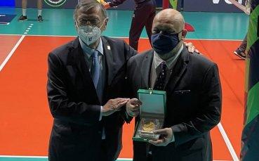 Министър Кралев беше избран за посланик на европейския волейбол
