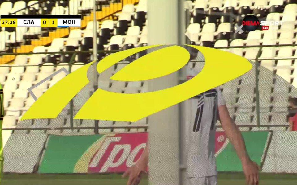Отборитена Славия и Монтана играят прив мач от плейофната фаза