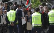 Два протеста пред президентството