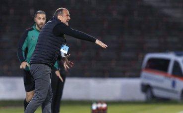Загорчич: Виждам страх и напрежение, но с победи ще се подобрим