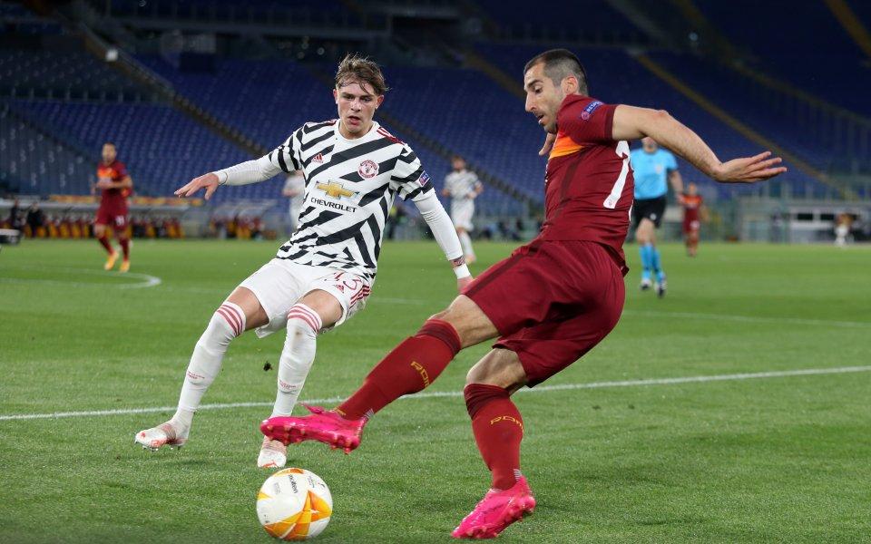 Отборитена Рома и Манчестър Юнайтед играят при