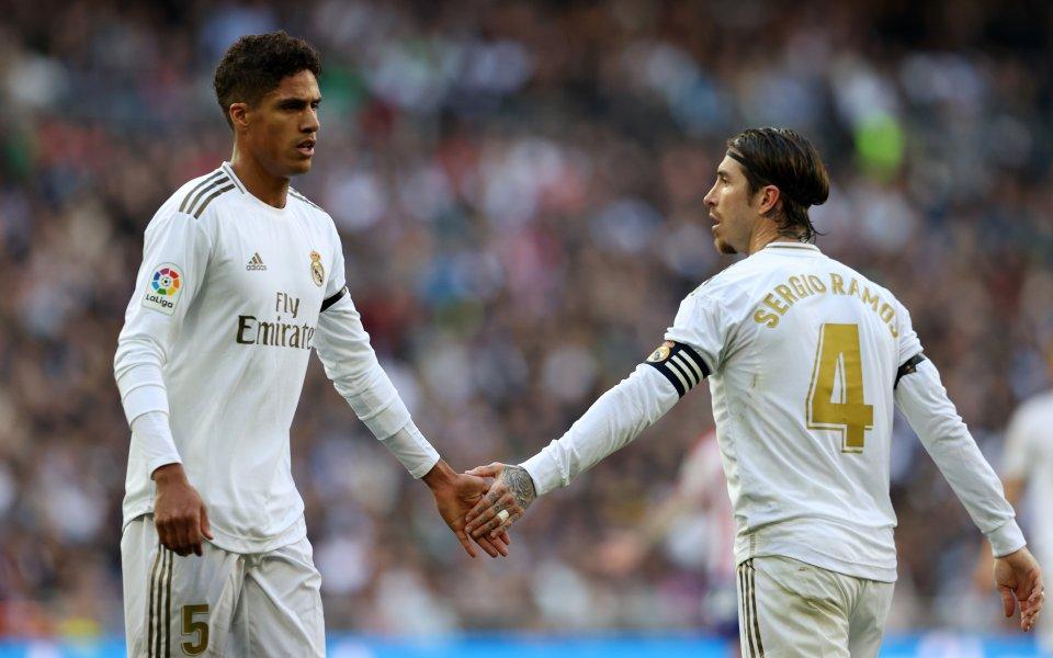 Защитниците на Реал Мадрид Серхио Рамос и Рафаел Варан вероятно
