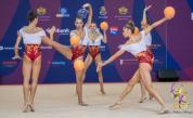 Българските гимнастички спечелиха още четири медала в Баку