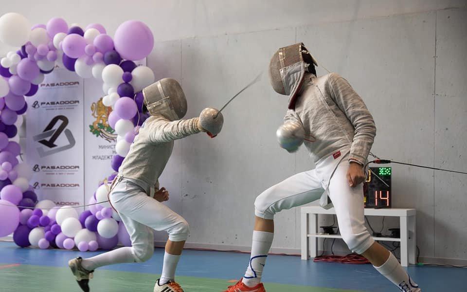 Международен турнир по фехтовка събра повече от 220 деца от 3 държави в София