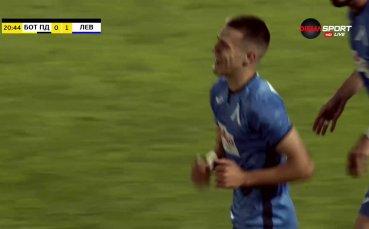Марин Петков откри за Левски срещу Ботев Пловдив
