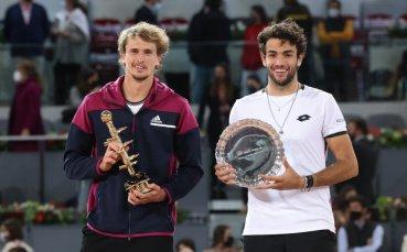 Александър Зверев триумфира с титлата от Мастърса в Мадрид