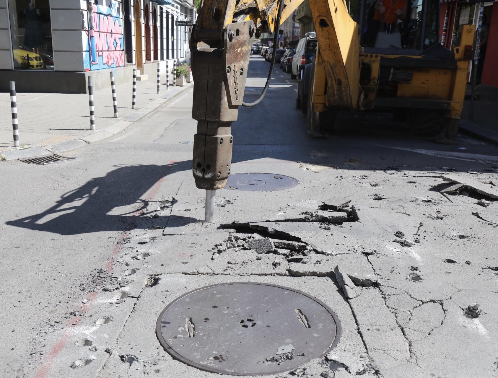 <p>Ремонт на столичната улица &quot;Цар Иван Шишман&quot;</p>