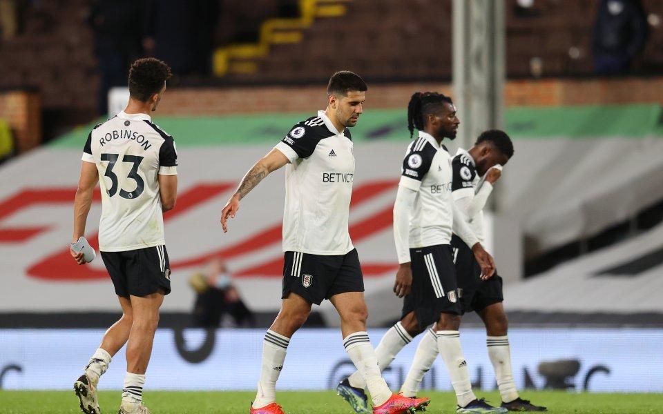 Отборът на Фулъм е последният тим, който изпада от английската