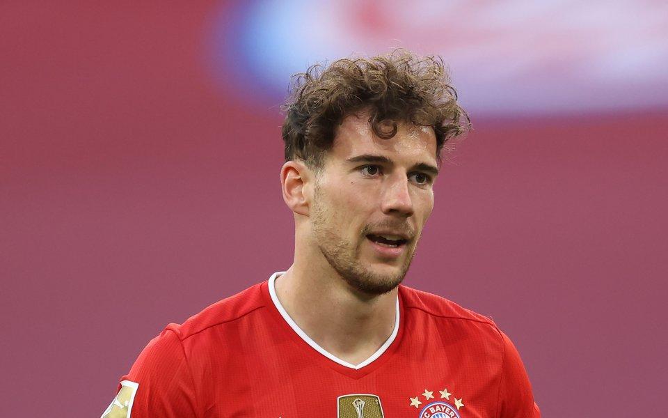 Футболистът на Байерн Мюнхен - Леон Горецка ще пропусне останалата