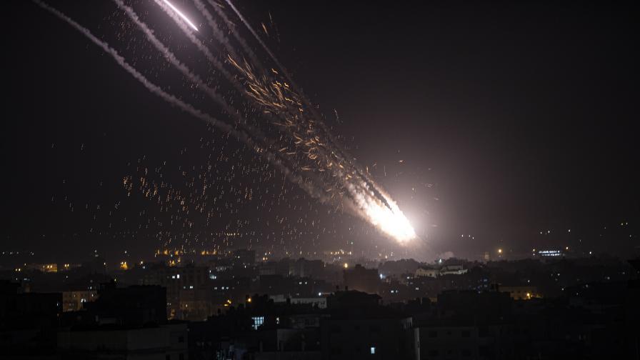 Ескалация, размяна на удари между ивицата Газа и Израел