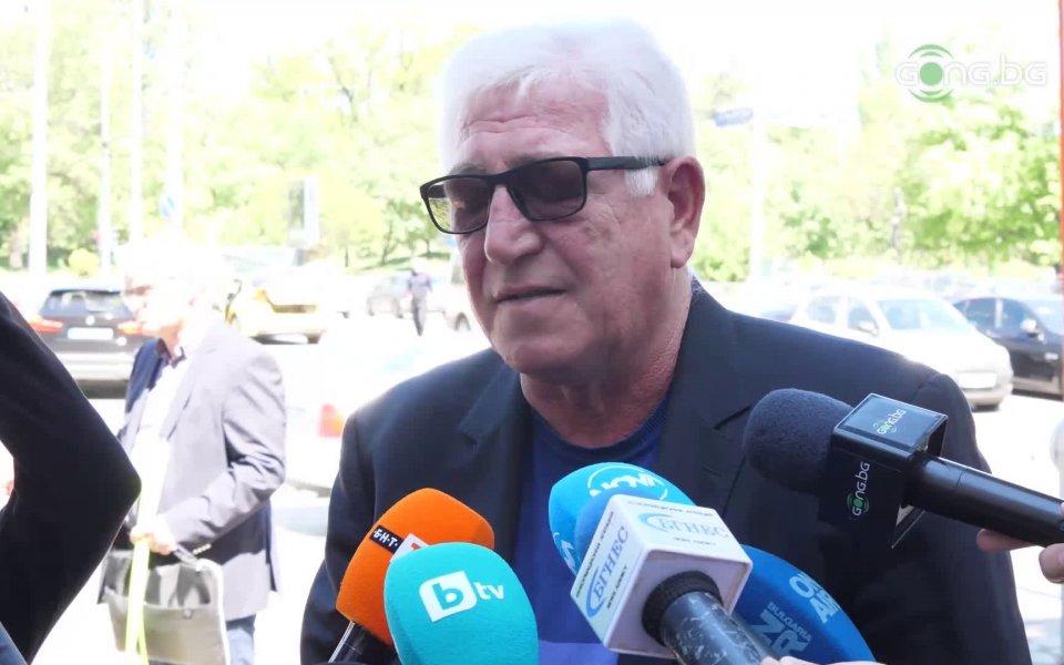 Легендата на ЦСКА, Джони Велинов, беше сред футболнитедейци, които се