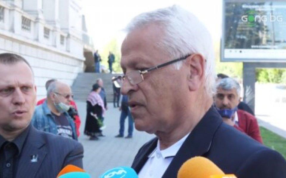 Бившият международен футболен съдия Любе Спасов също присъства на поклонението